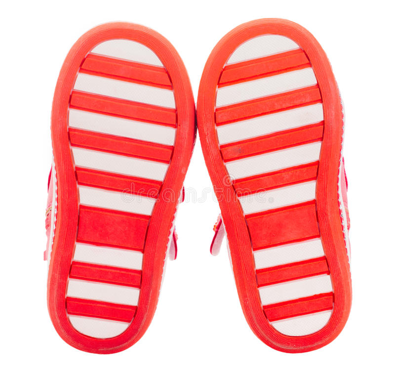 Free Red Baby Shoes Soles Royalty Free Stock Photography - 80376787