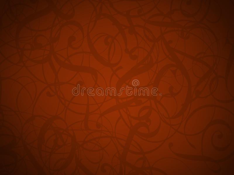 Red background. For wedding reception and valentines day stock illustration