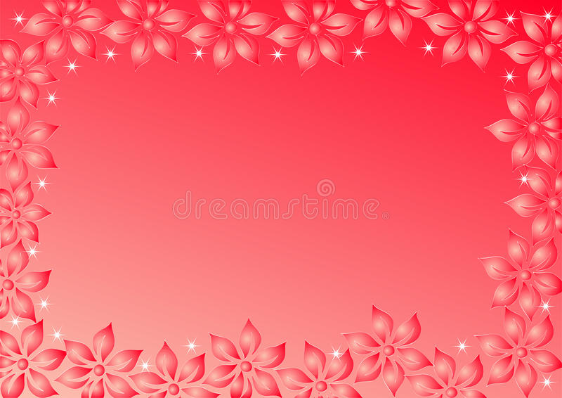 Download Red background stock vector. Image of frame, background - 22304310