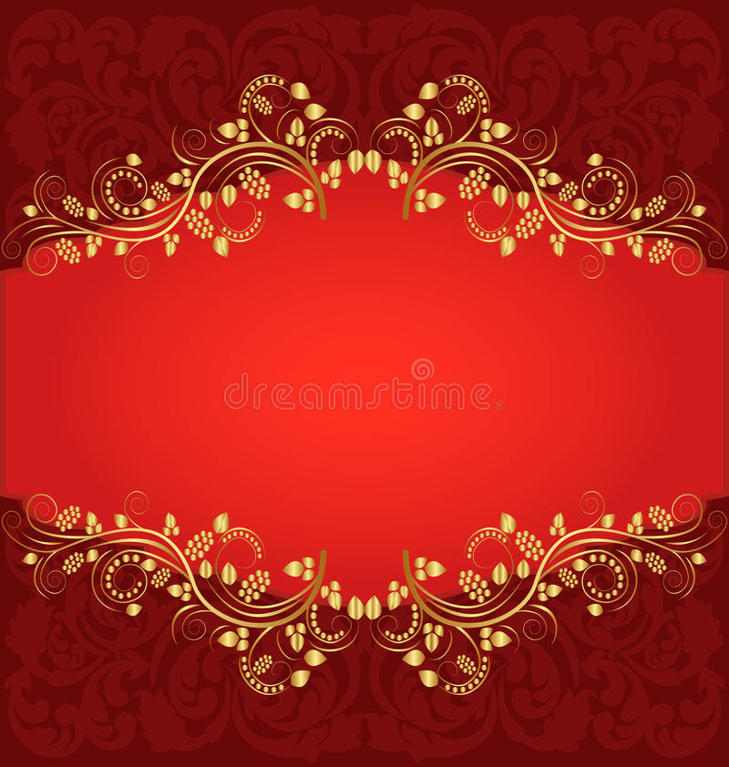 Download Red background stock vector. Illustration of background - 24135315