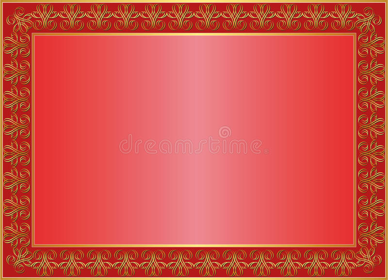 Download Red background stock vector. Image of classical, abstract - 24787173