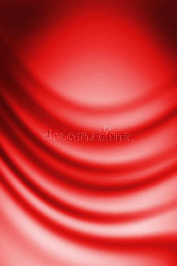 Red background. Imitation of red silk texture stock illustration