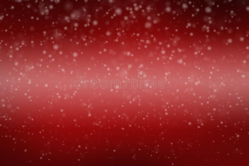 Red background with bokeh light royalty free stock photography