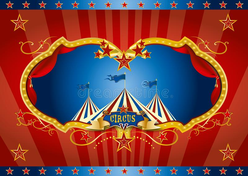 Red circus screen background royalty free stock photo