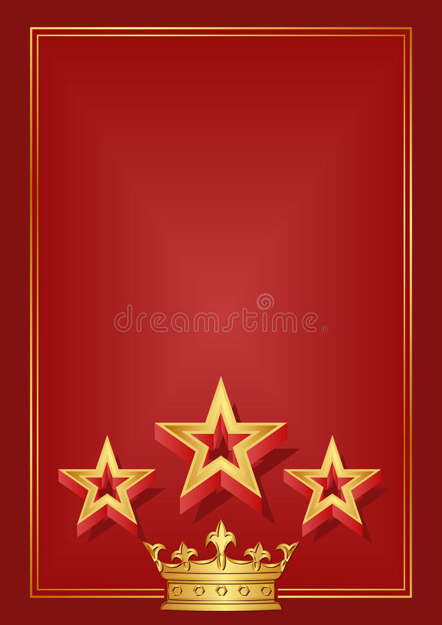 Download Red background stock vector. Image of design, retro, reflective - 30298664