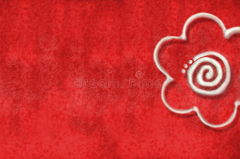 Download Red background with daisy stock photo. Image of page - 18955032