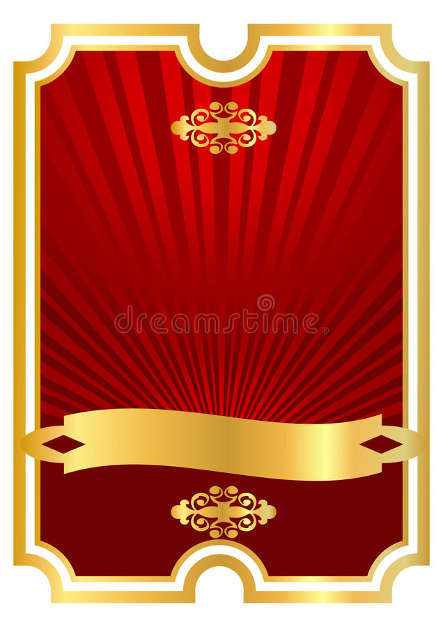Download Red Background For Foodand Drink Stock Vector - Illustration: 14189171