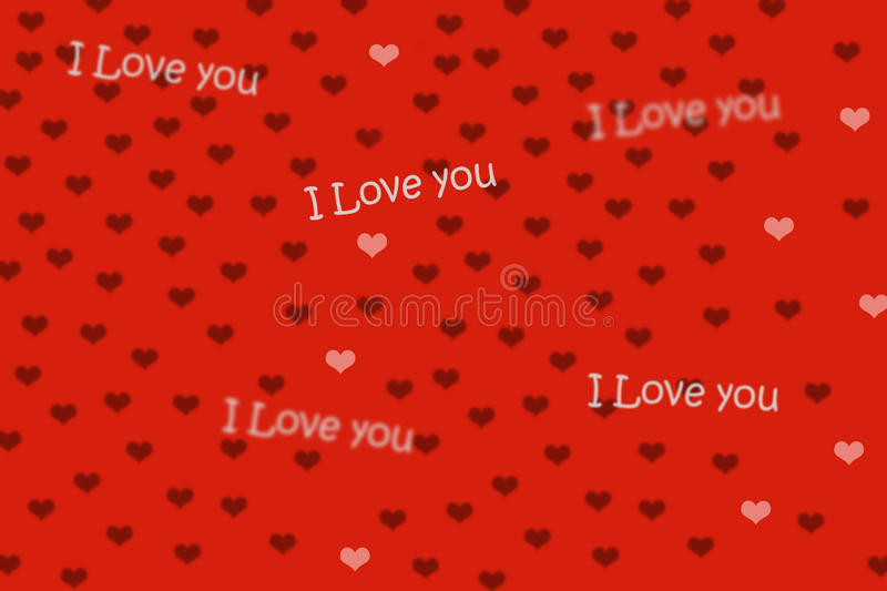 Red background and heart royalty free stock photography