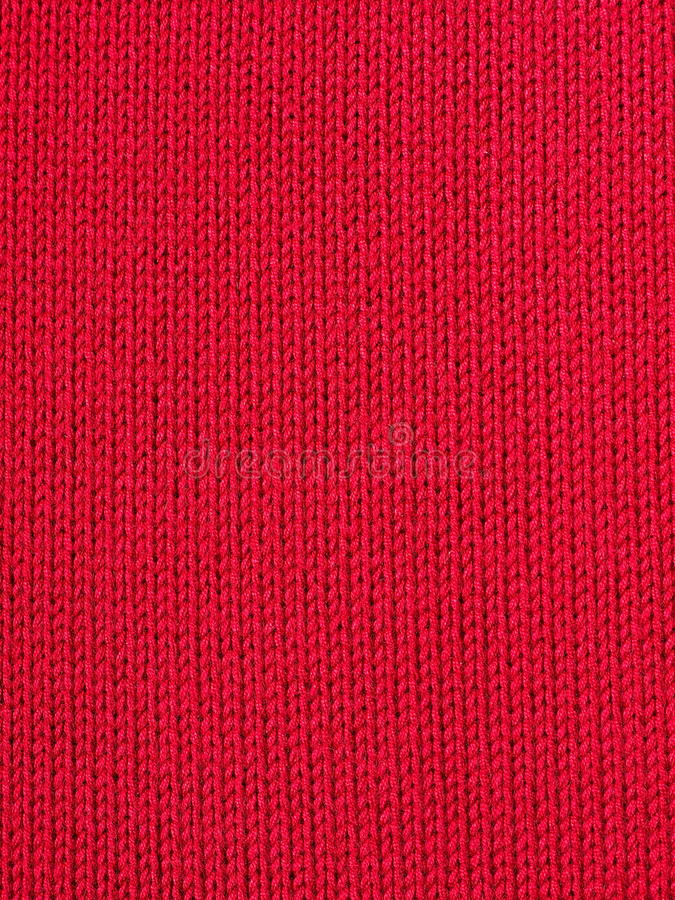 Red background (knitted fabric) royalty free stock images