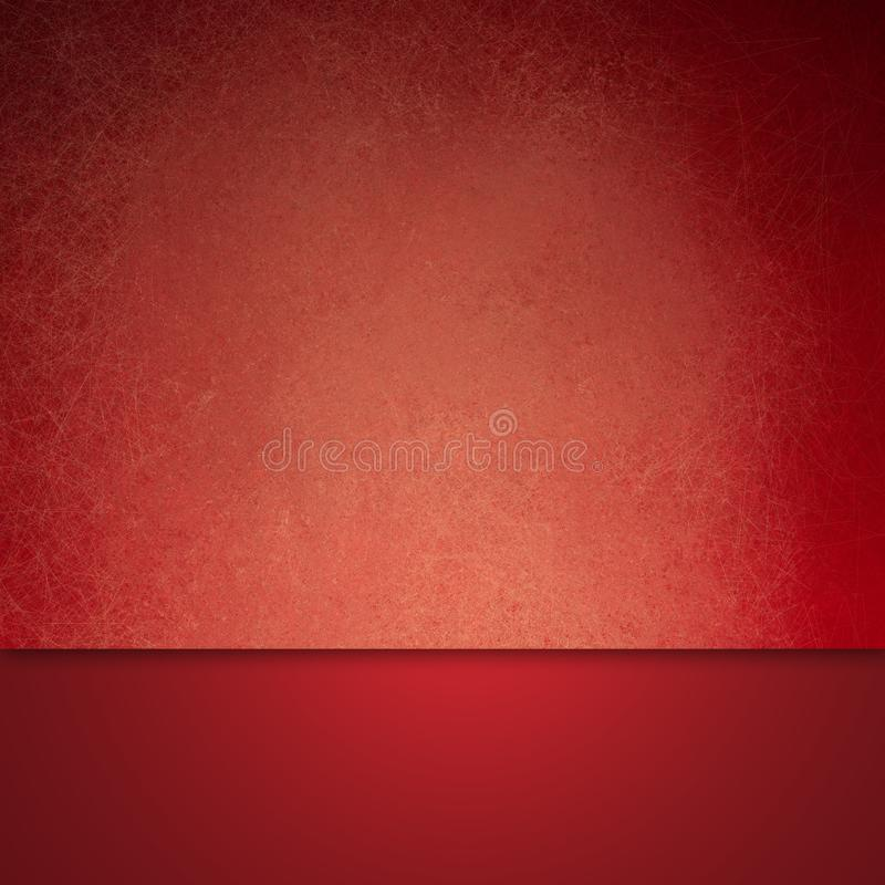 Red background in material design layers with texture and copyspace stock image
