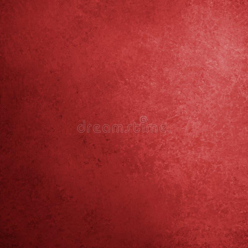 Red background with old distressed texture in elegant vintage design stock illustration