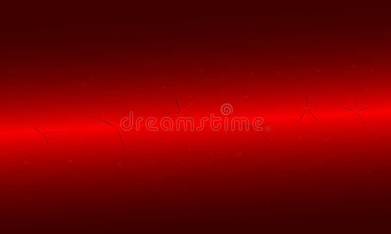 Red background with stars vector illustration