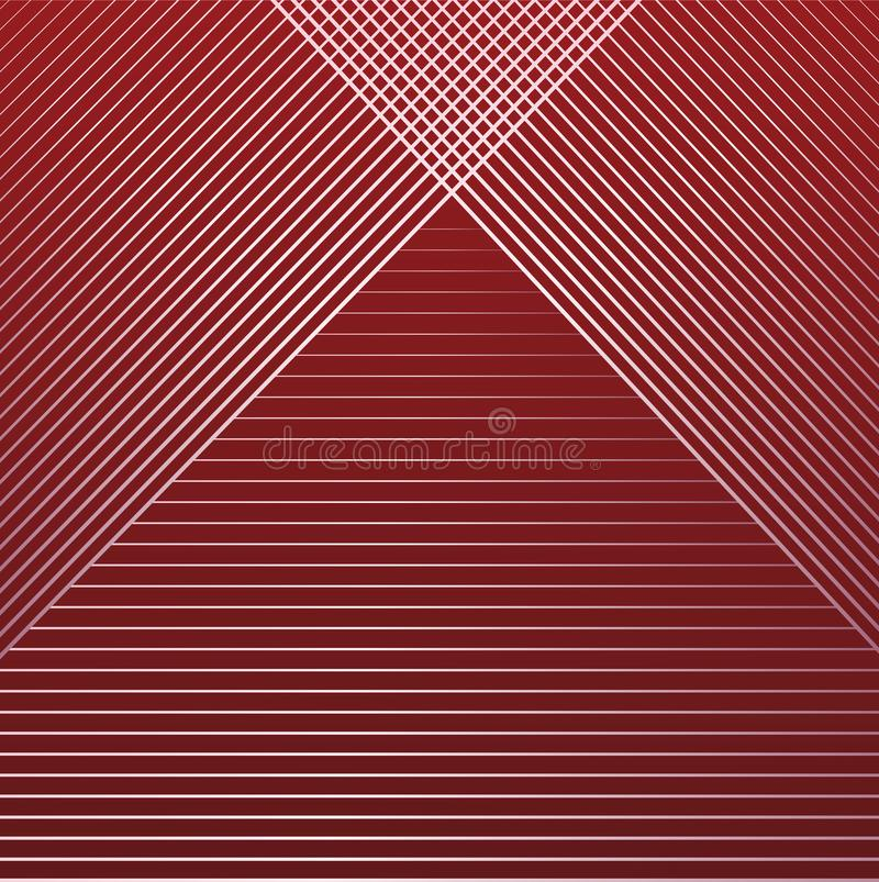 Stripes pattern background elegant graphic invitation card vector stock illustration