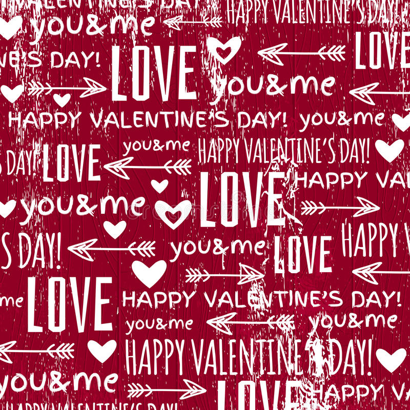 Red background with valentine heart stock photo