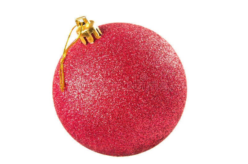 Download Red ball stock photo. Image of background, sphere, christmas - 26107314