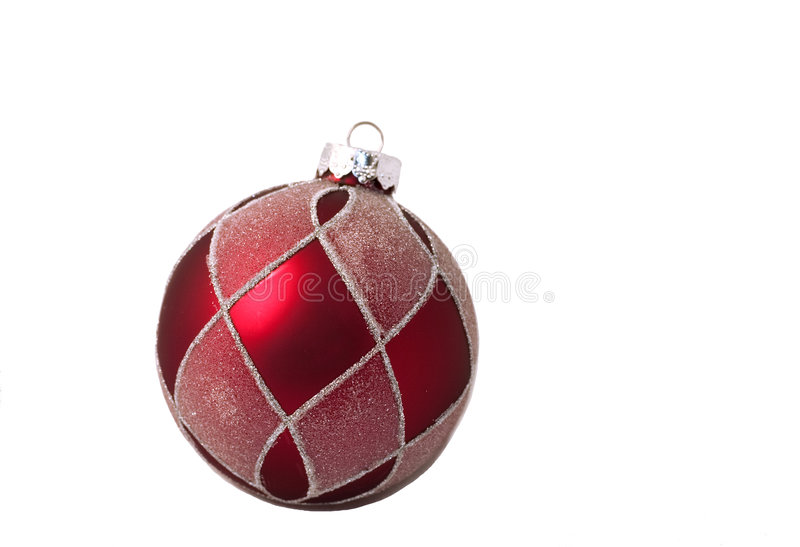 Download Red ball isolated stock photo. Image of shiny, ornament - 343778