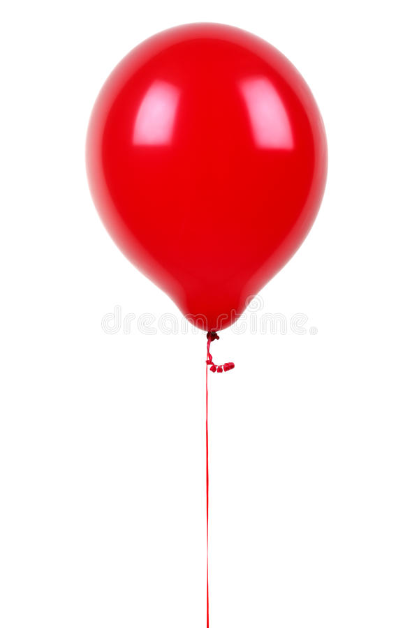 Download Red balloon stock photo. Image of single, up, rubber - 26888398