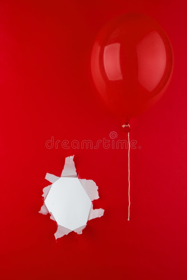 Download Red balloon stock image. Image of balloon, float, free - 7699415