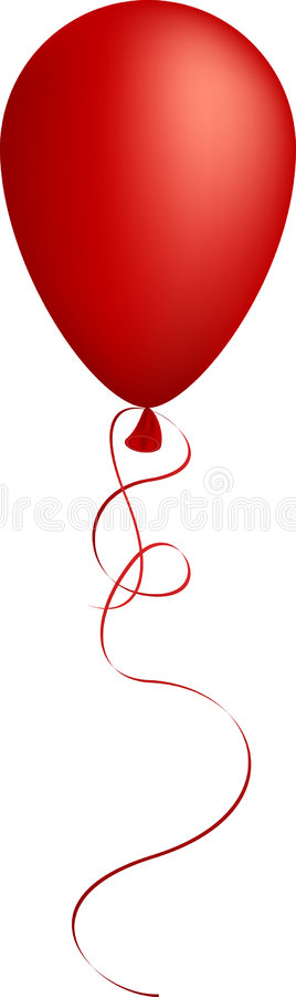 Red Balloon. Royalty Free Stock Photo