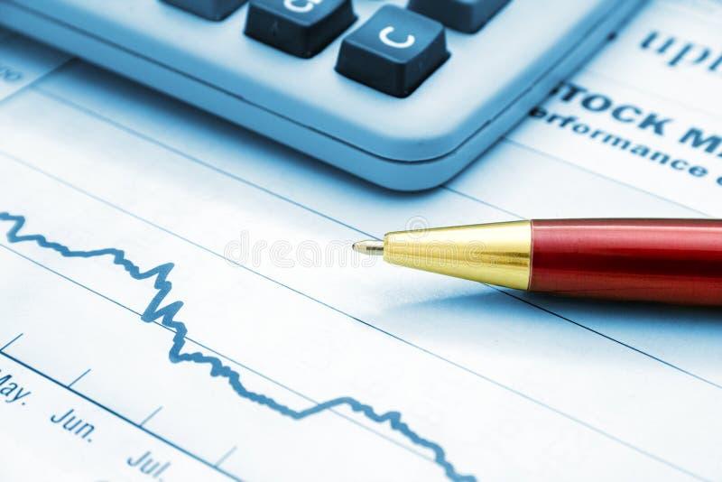Red ballpoint pen stock images