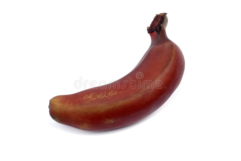 Red Banana. Royalty Free Stock Photo
