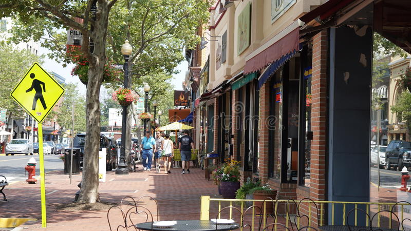 Red Bank in New Jersey royalty free stock photography