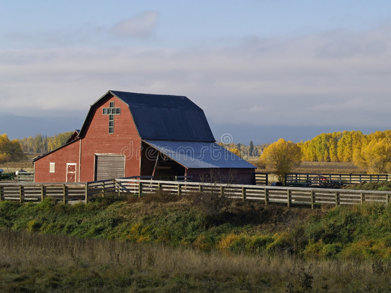 Download A Red Barn Stock Photography - Image: 1411342