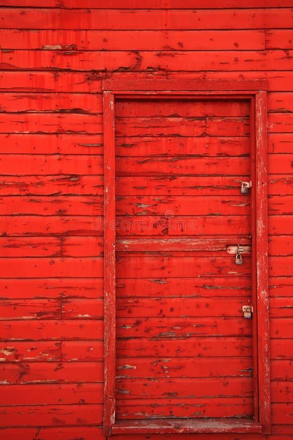 Download Red Barn Door stock image. Image of barn, rustic, entrance - 2986651