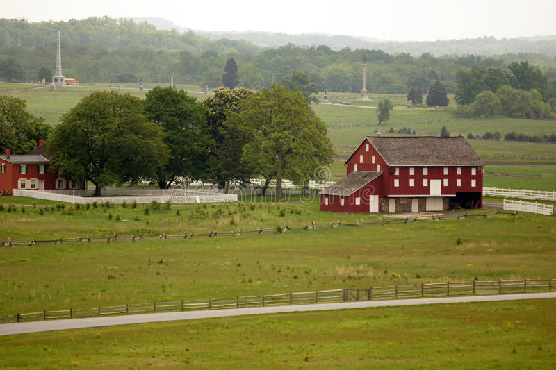 Download Red barn stock photo. Image of battle, house, battleground - 38848496