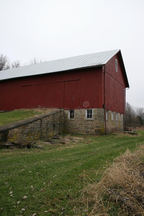See-Through Barn stock image. Image of field, tradition ...