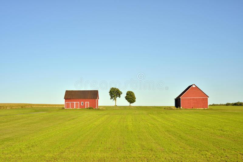 Download Red Barns Royalty Free Stock Images - Image: 28489579