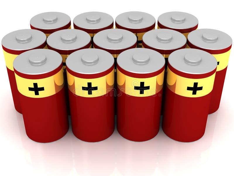 Download Red Batteries stock illustration. Illustration of stock - 26533655