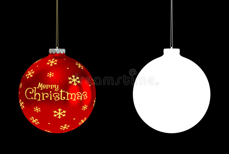 Download Red Bauble stock illustration. Image of background, vibrant - 7408344