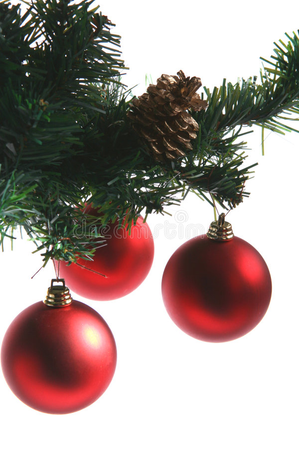 Download Red baubles stock photo. Image of entertainment, party - 258798