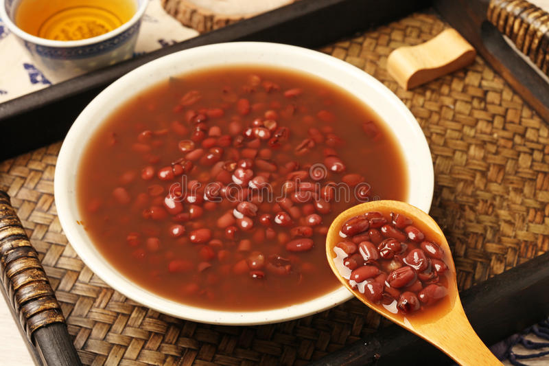 Red bean soup royalty free stock image