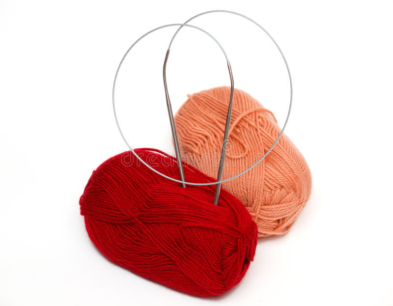 Yarn And The Spokes Stock Image