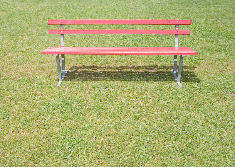 Download Red bench stock photo. Image of area, esplanade, estate - 10772