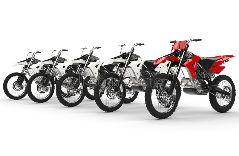 red bike standing out stock photo image of free danger 59008226