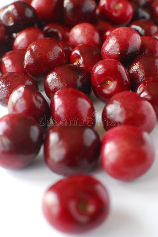 Red Bing Cherries Royalty Free Stock Photography