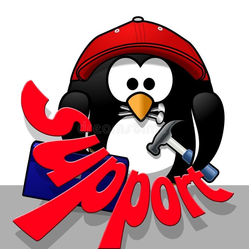 Red, Bird, Penguin, Vertebrate stock image