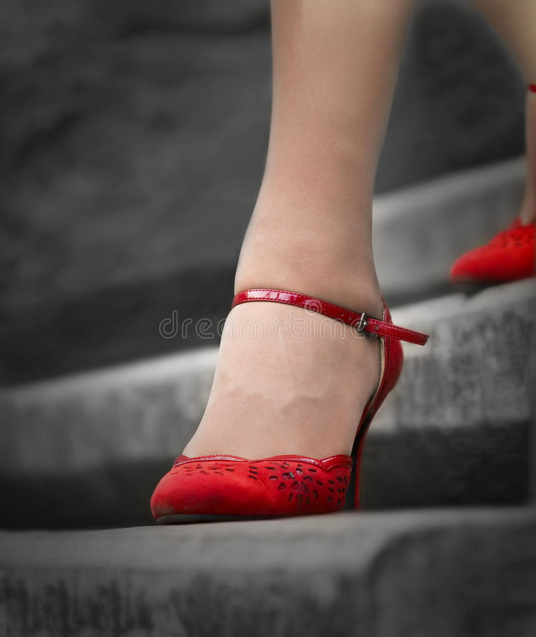 The red in black royalty free stock images