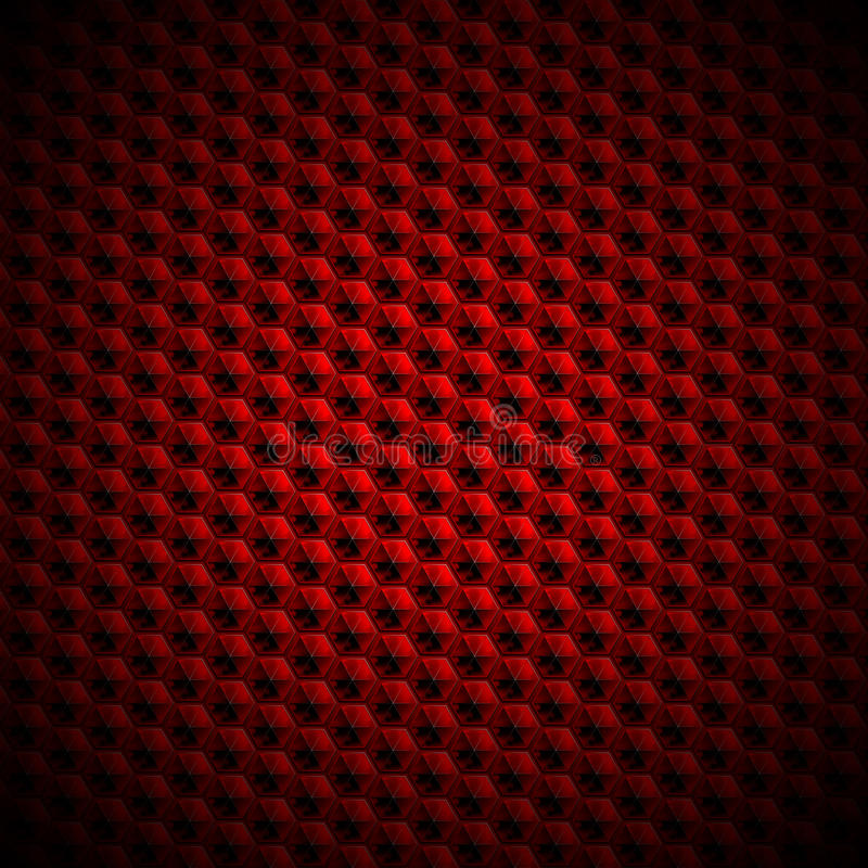 Red and Black Abstract Background vector illustration