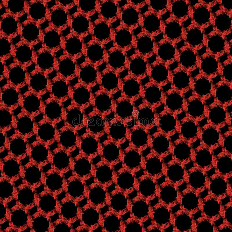 red and black abstract geometric pattern illustration royalty free stock photos