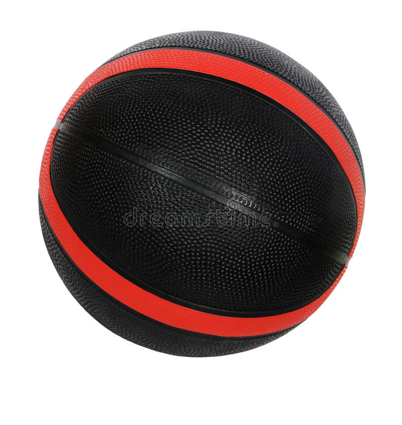 Download Red And Black Basket-ball Ball Stock Photo - Image: 18734568