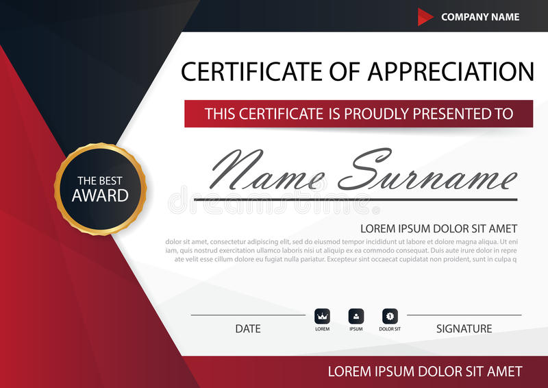 Red black elegance horizontal certificate with vector illustration download red black elegance horizontal certificate with vector illustration white frame certificate template with clean yelopaper Image collections
