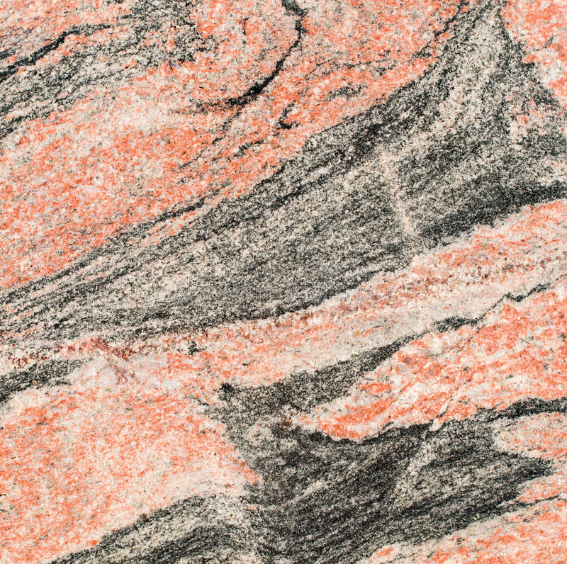 Red and black granite royalty free stock photo