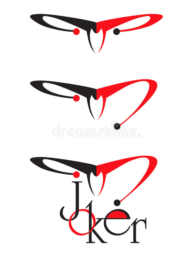 Download Red And Black Joker Stock Image - Image: 18096061