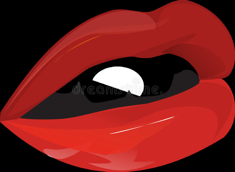 Red, Black, Mouth, Computer Wallpaper stock photo