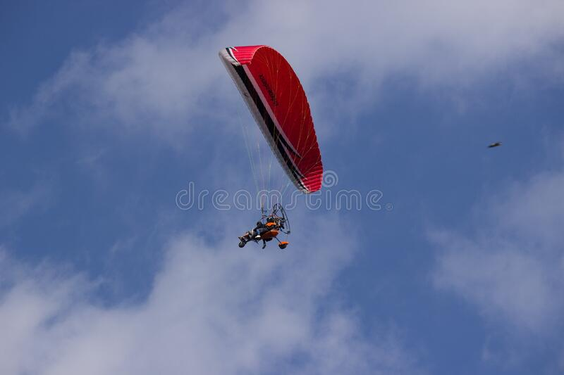 Red And Black Parachute Free Public Domain Cc0 Image