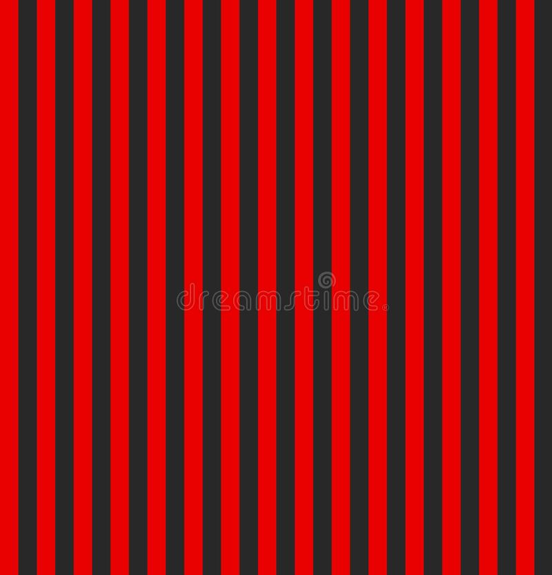 Red and black striped background. Vertical stripe abstract background. pattern stripe seamless red and balck colors design for vector illustration
